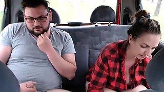 Big Tit Teen Smoking Flashing in Public
