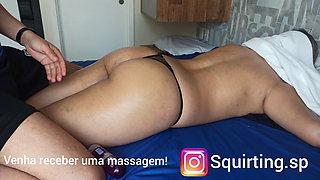 woman massage, anal stimulation, big ass, and whip part 2