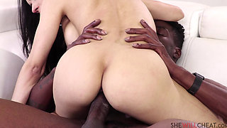 SEXY LATINA TIA CYRUS CHEATS ON HER CUCKOLD HUSBAND WITH A HUGE BBC