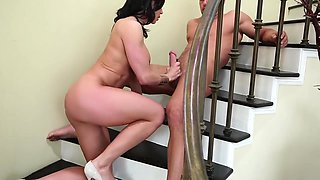 Kendra Lust - Over 40 Busty Cougar Takes A Big Young Dick