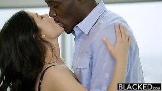 BLACKED British Wife Ava Dalush Loves Big Black Cock!