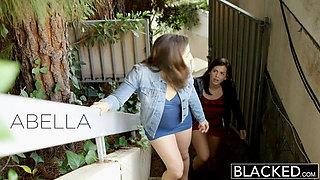 BLACKED Two Teens vs BBC