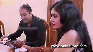 Indian desi milf unsatisfied wife fucked hardcore by her husband friend indian web series feneo movies fliz movies