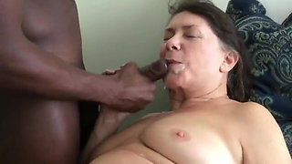 Granny Loves Bbc Facial Huge Sperm In mouth