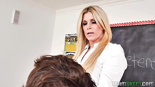India Summer is working as a teacher and often having steamy sex with her students