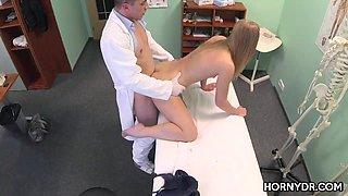 A little massage before fucking