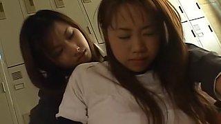 Exotic Japanese whore Emi Koike, Mikami Syoko in Hottest Cougar, Lesbian JAV clip