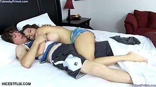 sleeping son