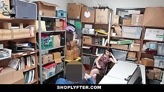 Shoplyfter - A Hard Fuck Punishment For Rebelious Teen