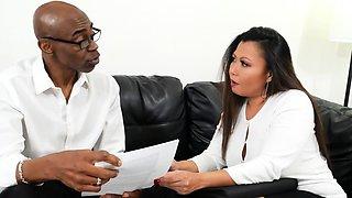 Busty MILF Wife Krystal Davis Cuckolds With An Old Fling