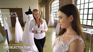 Virgin bride Liya Silver succumbs to your charms - Lifeselector