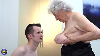 busty granny wants to fuck