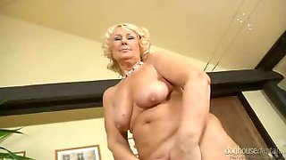 Horny Grannies strip down to nothing and rubbing their clits