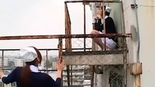 Incredible Japanese model Ryo Takamiya, Natsumi Horiguchi in Amazing Nurse, Fingering JAV clip