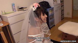Kana Narumiya In Horny Bride Hardcore Asian Porn