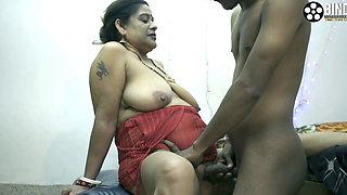 Unknown Horny Indian MILF Bhabhi Fucked Hard by Her Devar