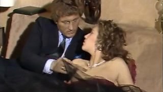 Long retro French movie with lesbian and orgy action