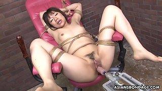 Shiori natsumi cums like never before with ai fucking machine