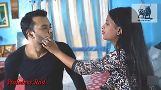 Indian Young Wife fucks Brother in Law & takes a Facial