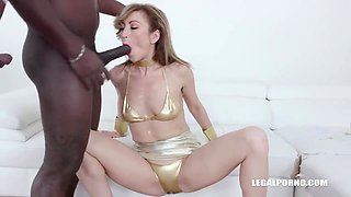 Russian Girl Love African Pee With Julia North