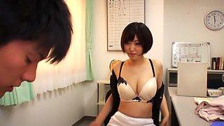 Amazing Japanese chick Asahi Mizuno in Fabulous couple, panties JAV movie