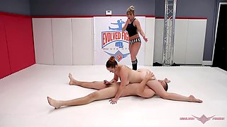 Bella rossi destroyed in wrestling the fucked by guy