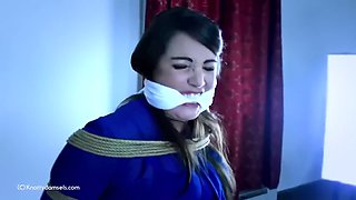 Liz is cleave gagged