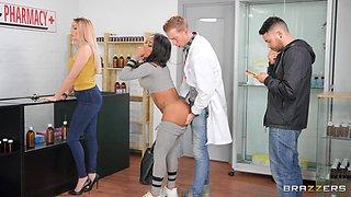 horny salesman seduces buyers