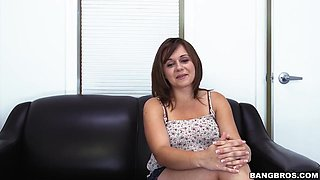 Chrissy First Porn Casting