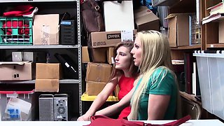 ShopLyfter- Milf and Daughter Fucked For Stealing