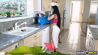 Maid cleans more than the house