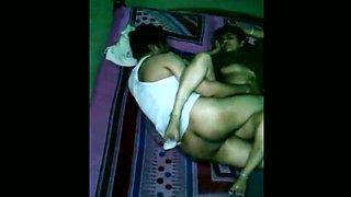 Some really steamy spoon sex pose performed by real Indian couple