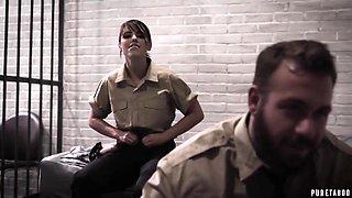 Prison Guards Hardcore Fuck Innocent Prisoner With Adriana Chechik