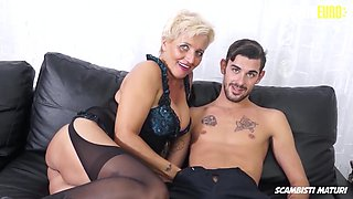 Big Boobs Cougar Assfucked By New Son In Law