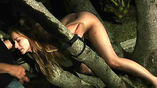Adorable Teen punish tied up brutaly fucked hard bdsm