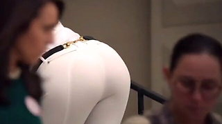 Gwyneth Paltrow's ass in tight white pants