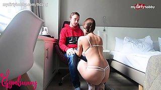 MyDirtyHobby - Busty college teen creampied in her dorm room