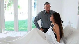Mature family hd first time Stepcompanion's daughter Sick Da