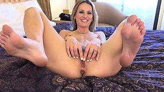 Natasha Strips Off Her Undies and Gets Feet Worshipped