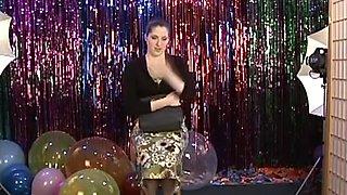 Good Girls Paid To Dance Naked! -- Stern Teen Co-Ed Chemistry Major Natalie