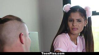 TeenPies - CreamPie surprise for cute teen