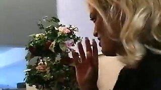 Gorgeous Smoking Blonde Brooke