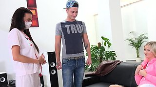 Doctor watches hymen physical and virgin nympho poking07DCx