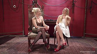 Hottest lesbian, anal xxx video with amazing pornstars AJ Applegate and Lorelei Lee from Whippedass