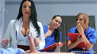 Busty Doctor Gives Medical Students A Sex Lesson - Angela White