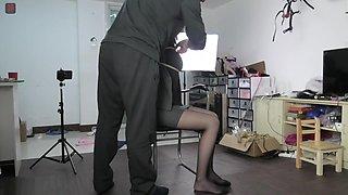Chinese girl bondage game