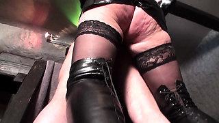 Fetish Ladies pegging slaves