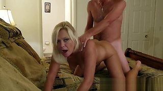 Hardcore Home Video with a Horny Housewife