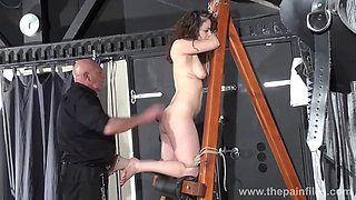 extreme dungeon slave whipping post punishment beauvoirs