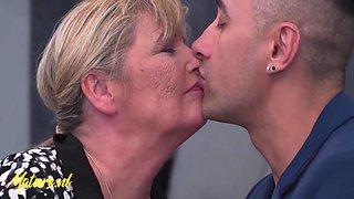 Big Tits Grandma Loves Rough Anal Sex! 11 Min With Alisha Rydes